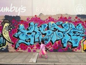 Graffiti in Lyneham, Canberra