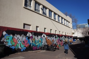 Tocumwal Lane piece in Canberra City